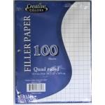 Quad Ruled Graph Paper $0.85 Each