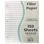 150 Pack Filler Paper College Ruled