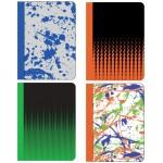 80 Sheet Designer Composition Notebooks Wide Ruled