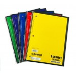 70 Sheet Norcom Spiral Notebooks College Ruled