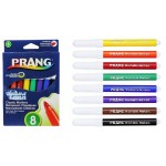 8 Pack Prang Washable Markers