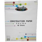 Construction Paper $0.89 Each.