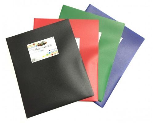 2 Pocket Poly Folder $0.59 Each.