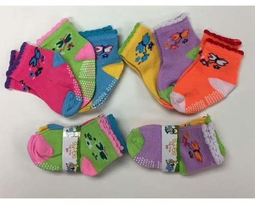 0-2 Girls Socks $5.50 Each Dz.
