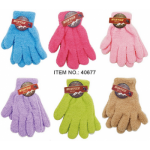 Ladies Solid Microfiber Gloves $0.79 Each.