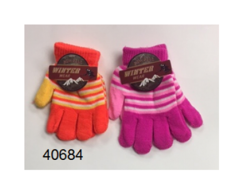 Girls Winter Gloves $0.74 Each.