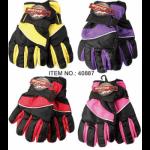 Girls Ski Gloves $2.59 Each.