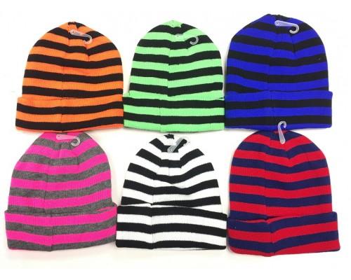 Kids Stripe Hat $1.25 Each.